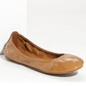 Tori Burch Eddie Patent Leather Ballet Flats